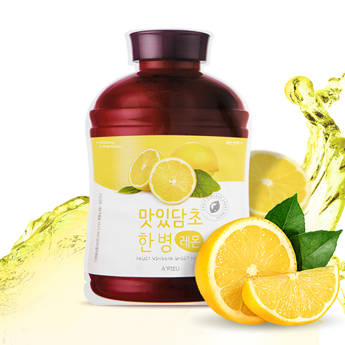Fruit-Vinegar-Sheet-Mask-Lemon