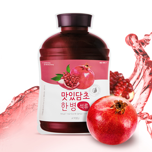 Fruit-Vinegar-Sheet-Mask-Pomegranate