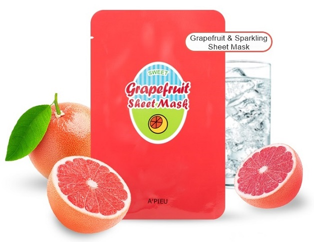 Grapefruit-Sparkling-Sheet-Mask