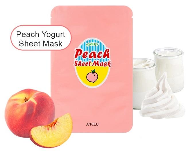 Peach-Yogurt-Sheet-Mask